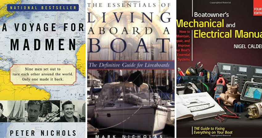 christmas gifts for boaters - books