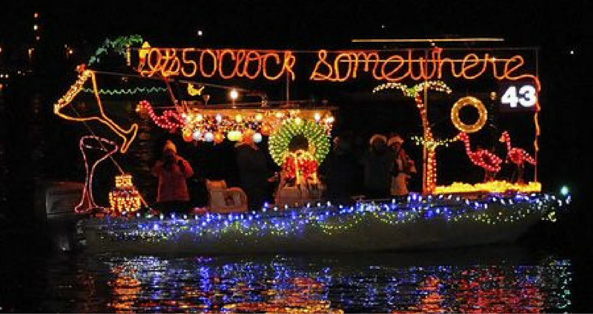 Christmas Tree Lighting In Red Bank Nj : Holiday boat parades harbor events