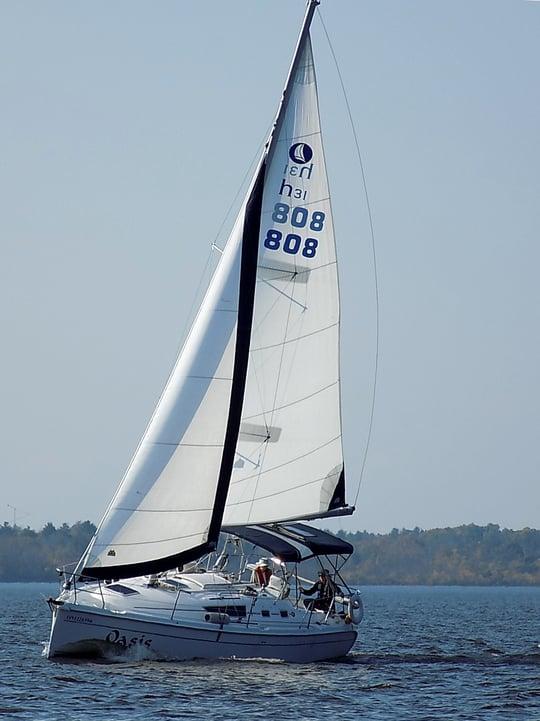 Hunter 31 Sailboat