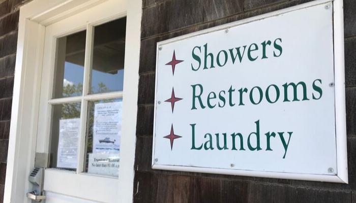 Marina Bathrooms Showers Laundry