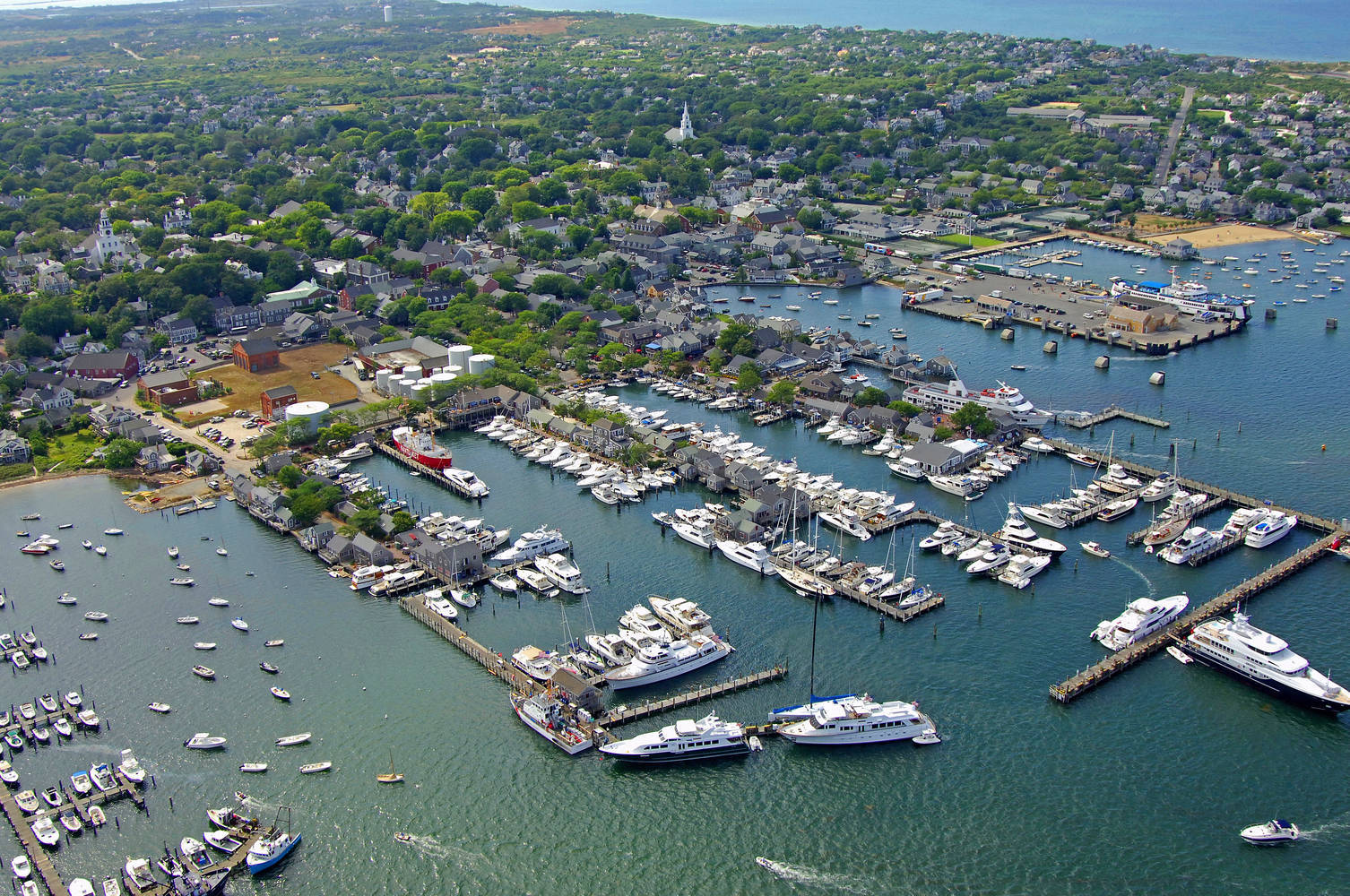 Nantucket Boat Basin - present day
