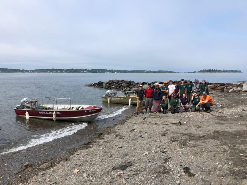 Portland Youth Corps Jewell Island