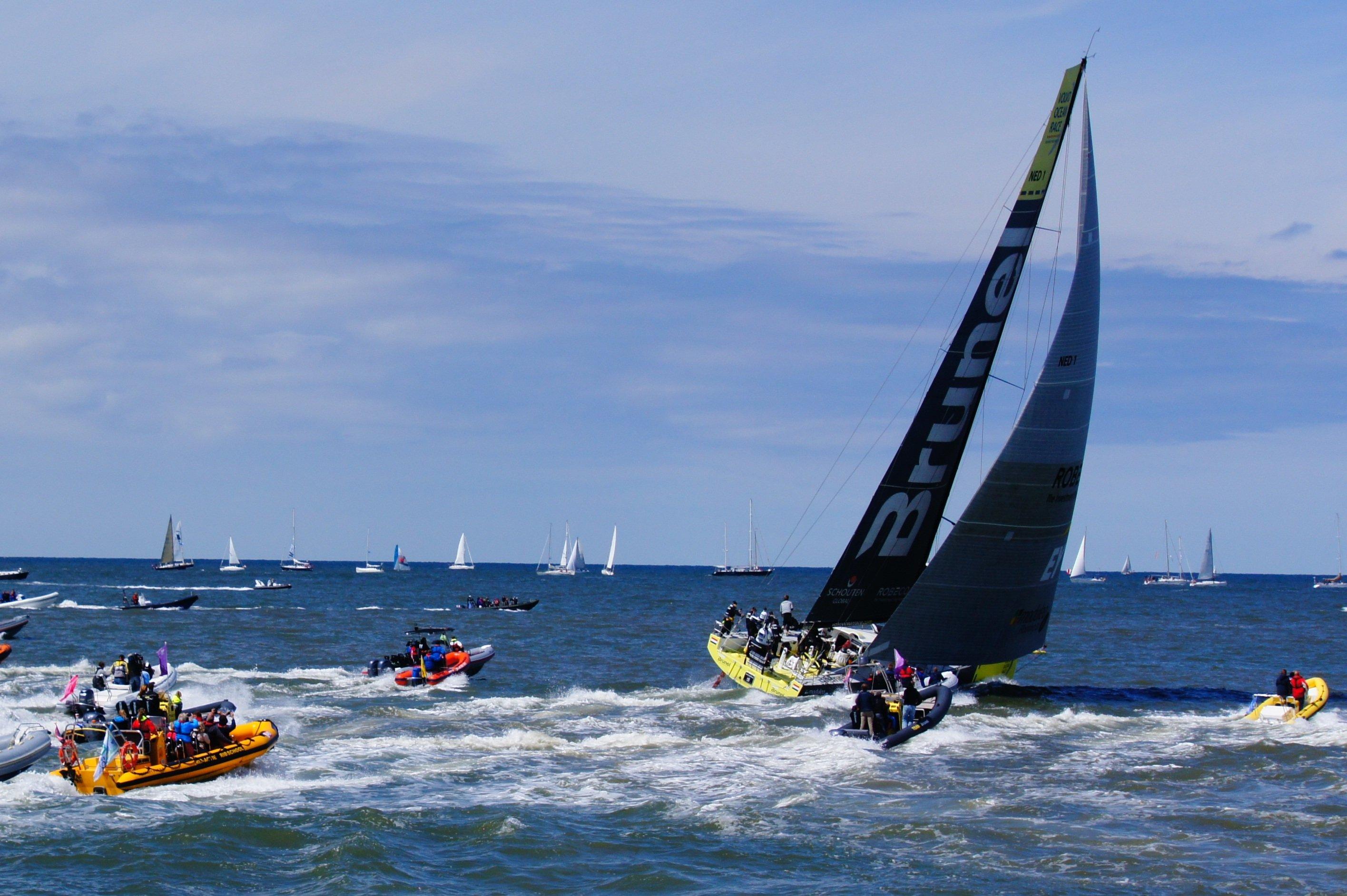 Volvo Ocean Race in-port races
