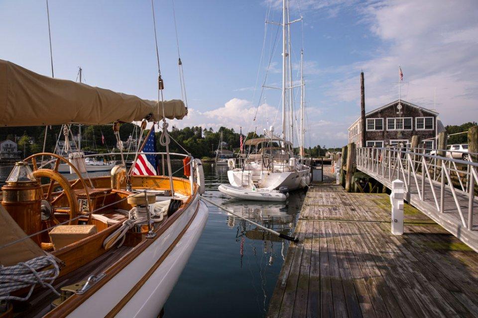 Hodgdon Boothbay Harbor Wharf