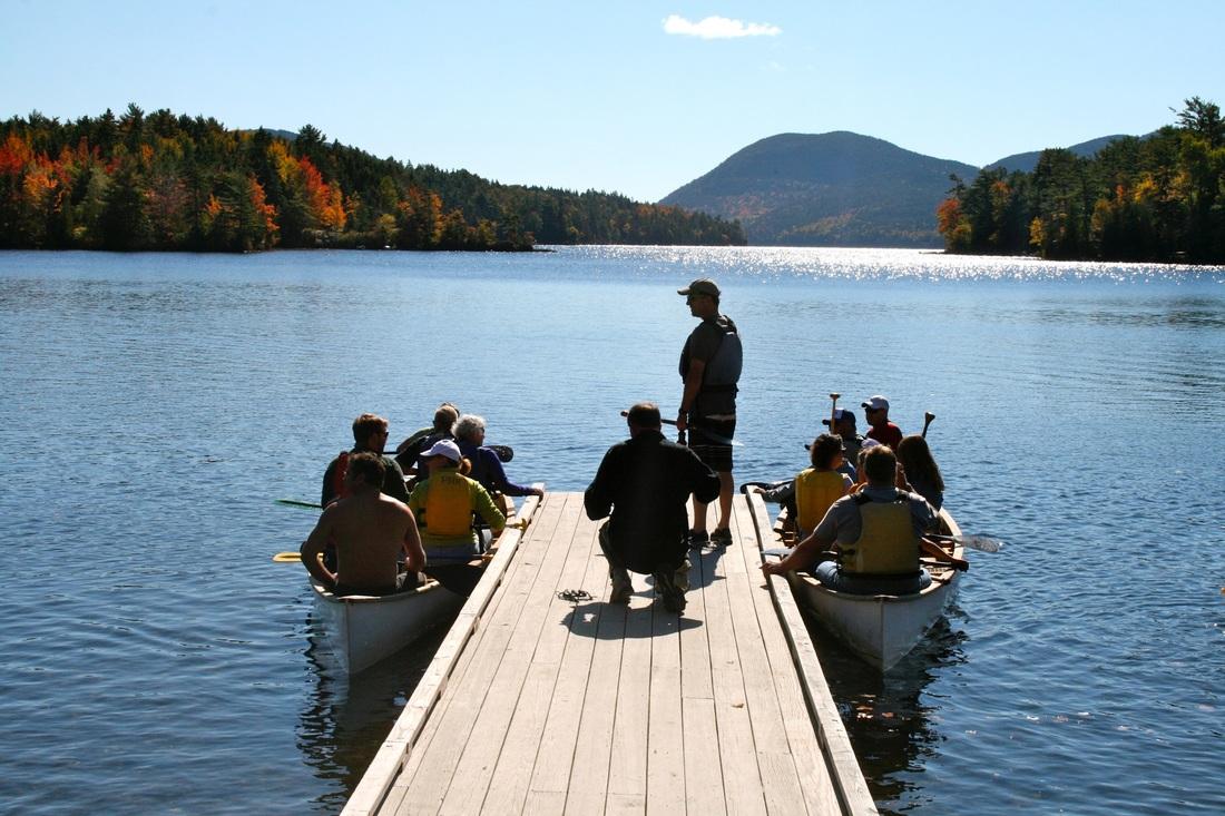 Okatoberfest Canoe Races