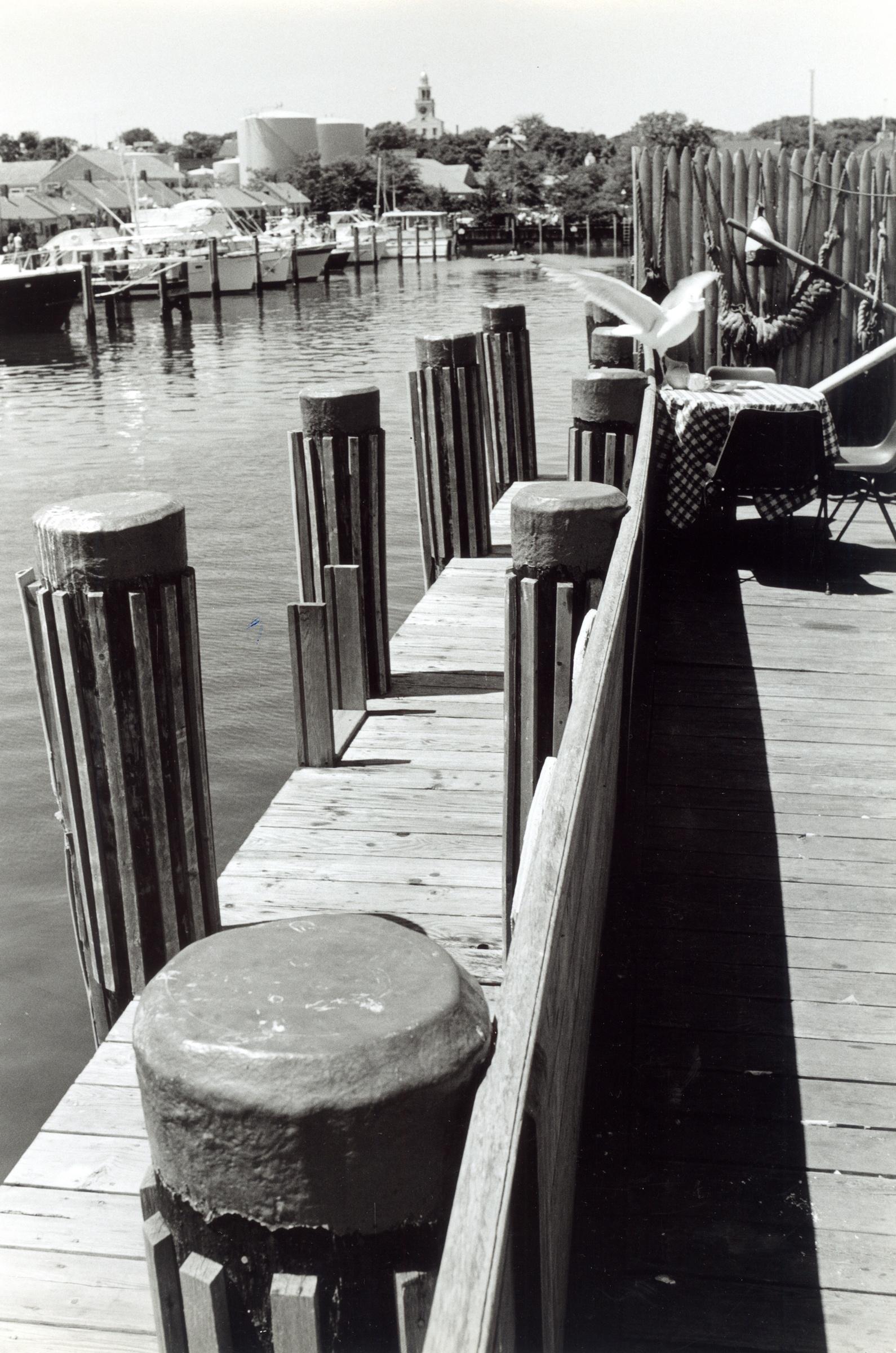 Nantucket Boat Basin - View from the Sail Loft