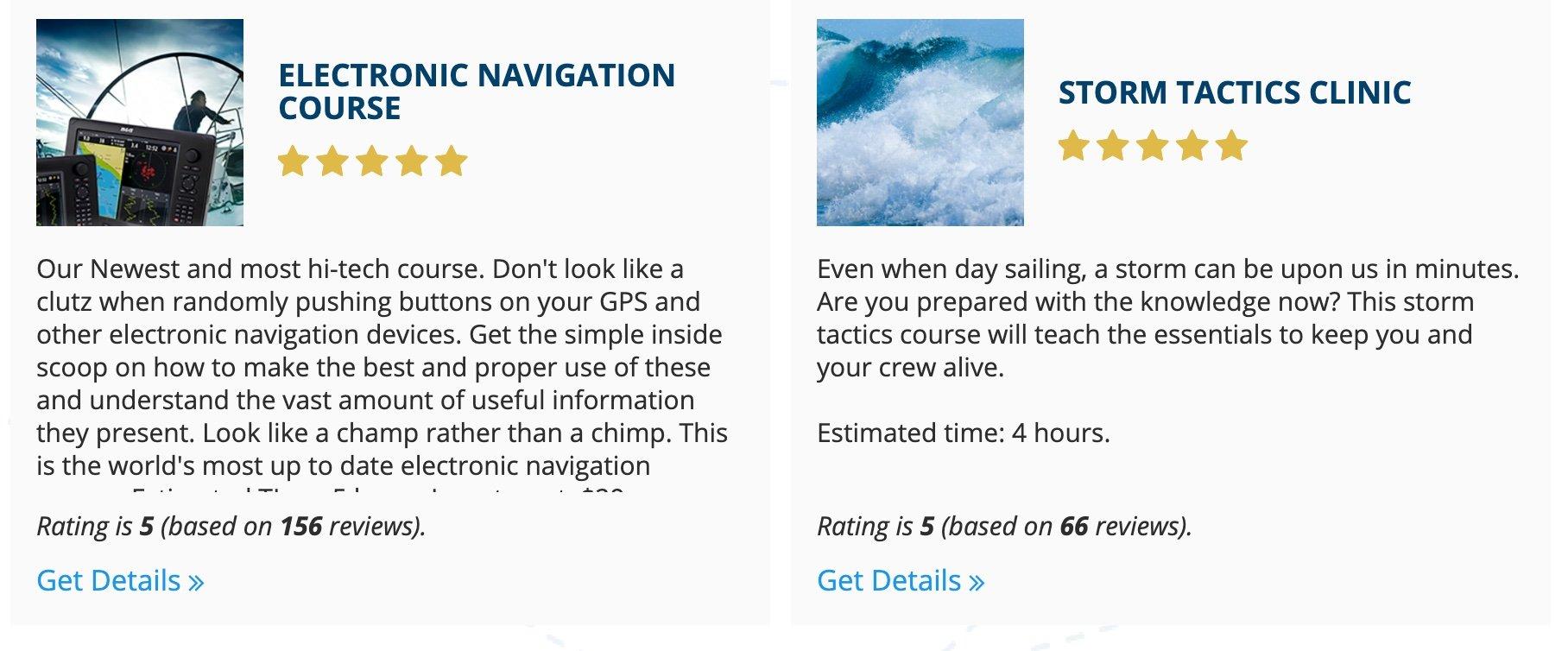 sailing-courses