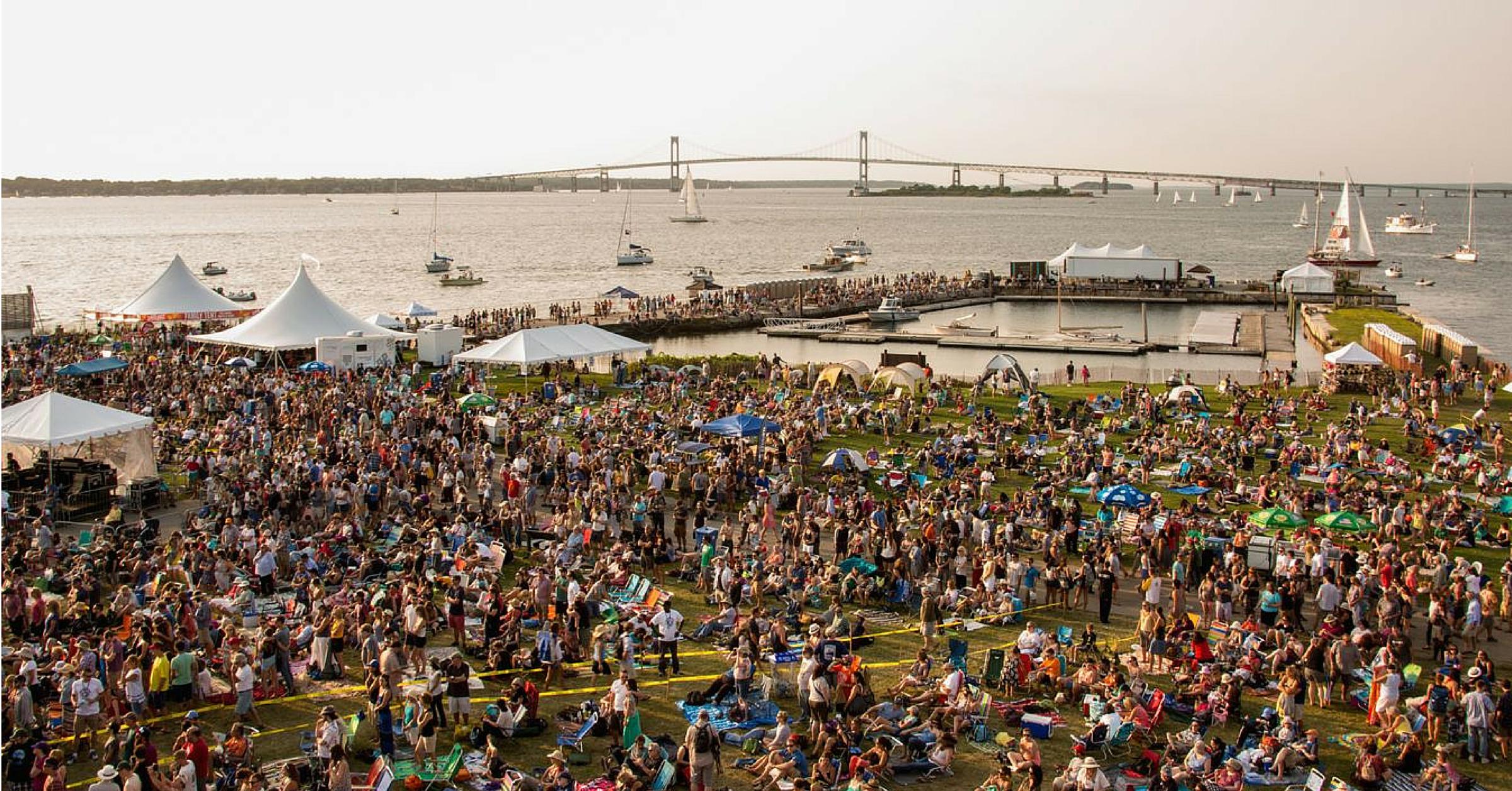 Newport Folk Festival 2016 Preview: How to do Newport Folk Fest by Boat