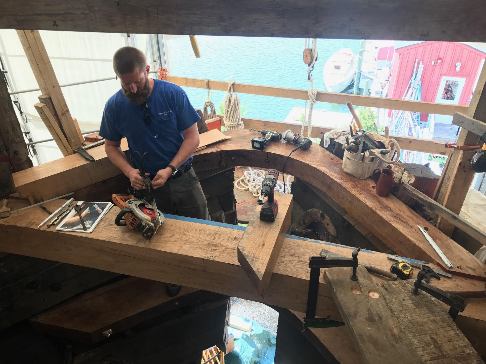 Shipwright working on Mayflower II.jpg