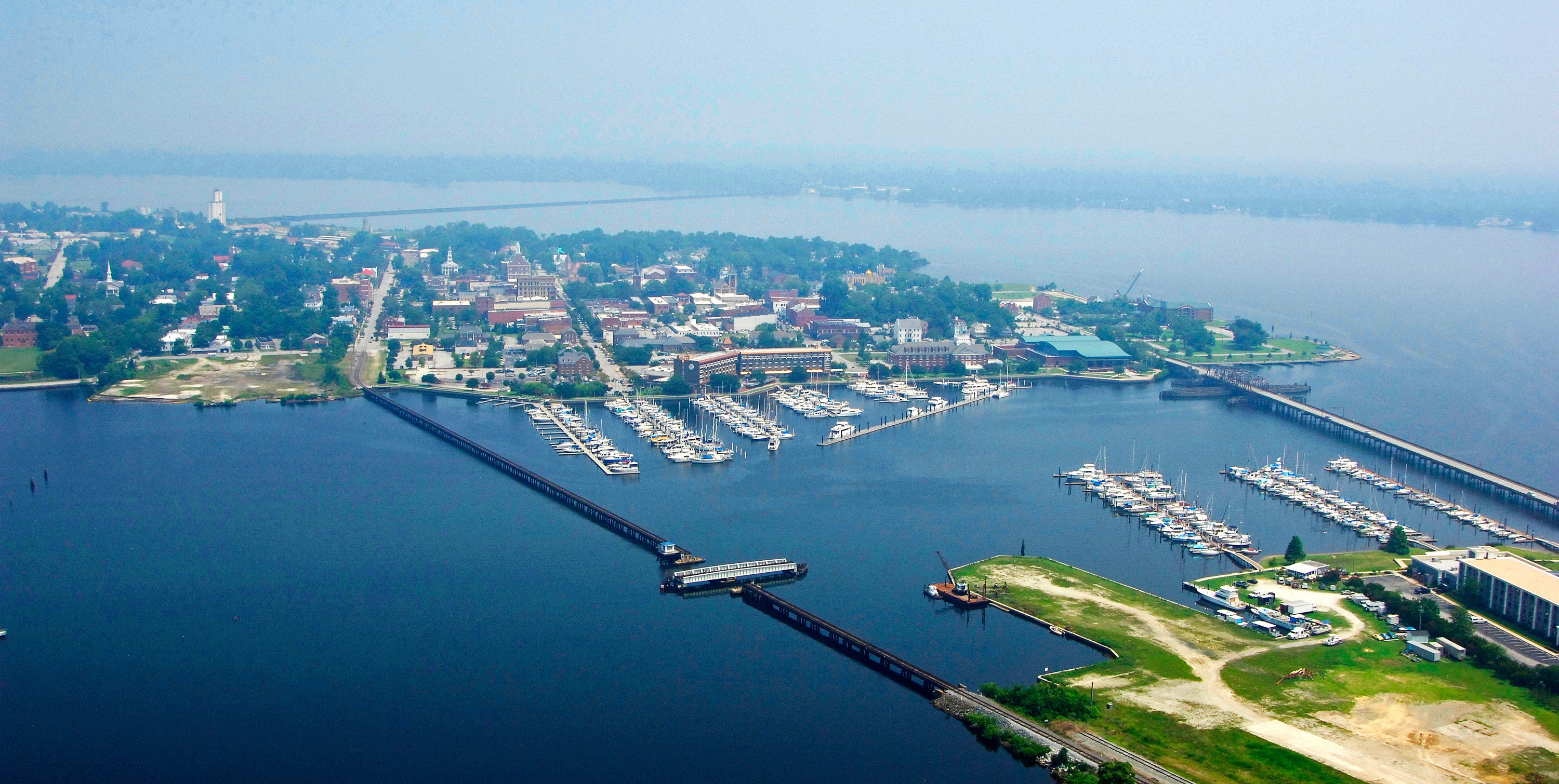 New Bern Grand Marina in New Bern, North Carolina