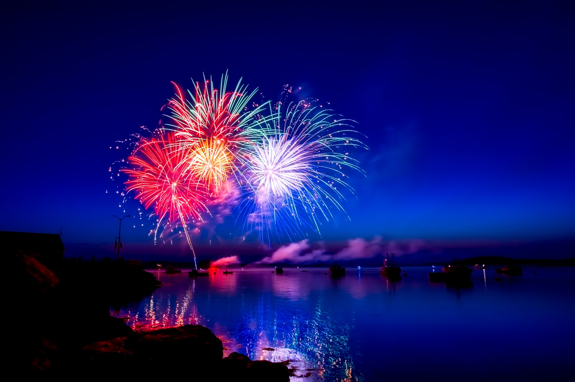 Where to Watch 4th of July Fireworks by Boat